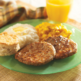 Restaurant Style Sausage Patties