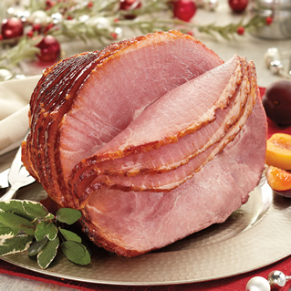 Honey Cured & Honey Glazed Spiral Sliced Half Ham
