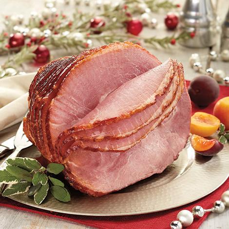 Honey Cured & Honey Glazed Spiral Sliced Half Ham
