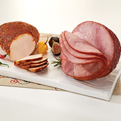 Boneless Spiral Sliced Ham & Mini Cajun Turkey Breast