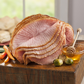 Double Honey Glazed Spiral Sliced Ham
