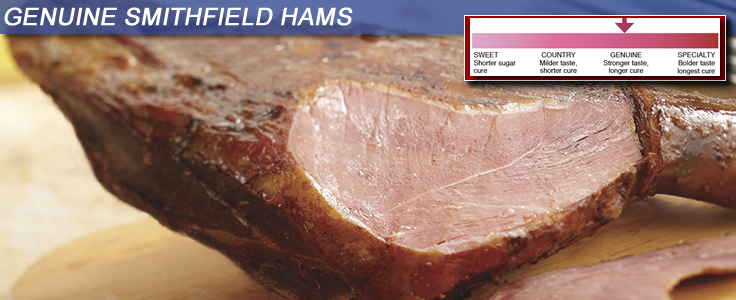 Genuine Smithfield Hams