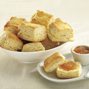 24 Layer Square Cream Cheese Biscuits